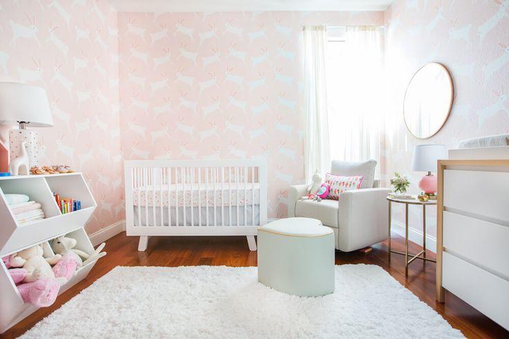 Bunny Themed Nursery Makeover