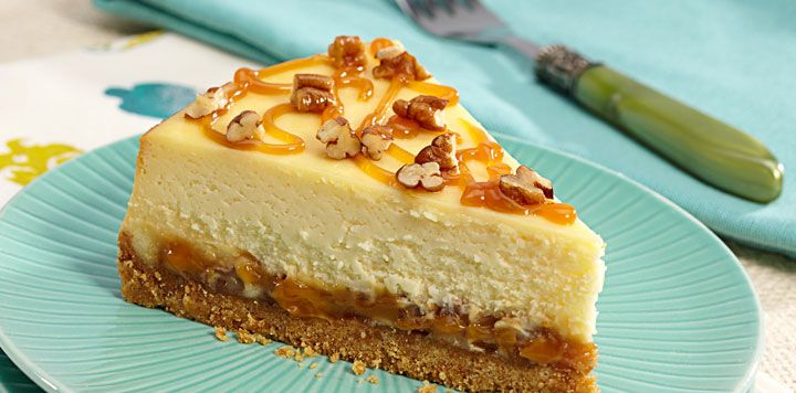 Caramel Pecan Cheesecake | CHEESECAKES | Pinterest