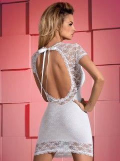Dressita sukienka i stringi biały XXL