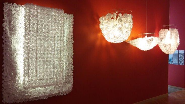 Paper chandelier (at Gdansk Museum of Modern Art)
