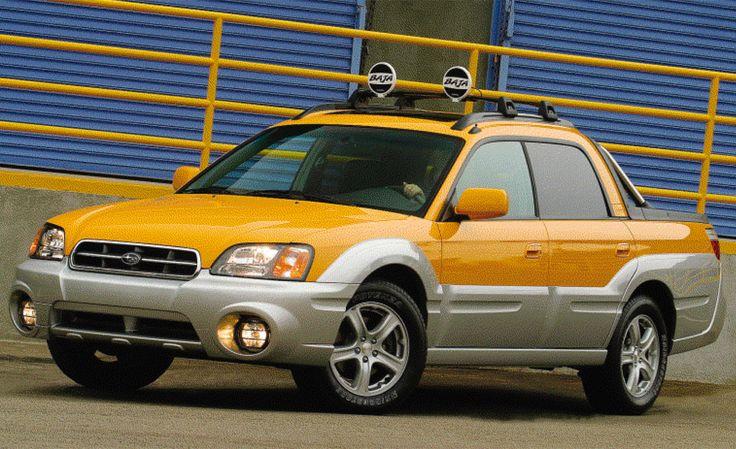Subaru Baja -- I'd get one. The swiss pocketknife of vehicles. VDR