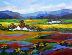 Summers Day - by Marlise le Roux