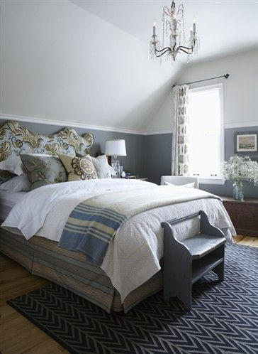 25 best ideas about sloped ceiling bedroom on pinterest - Slanted ceiling paint ideas ...