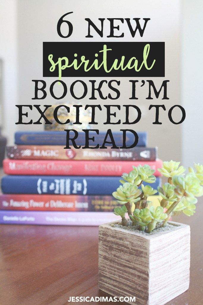 6 new books on spirituality I can't wait to read!