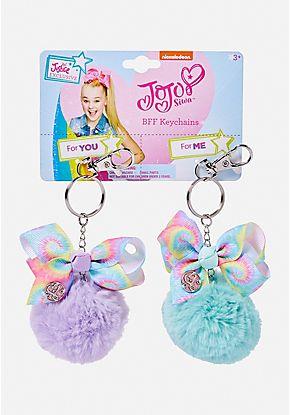 Jojo Siwa BFF Pom Key Chain Set
