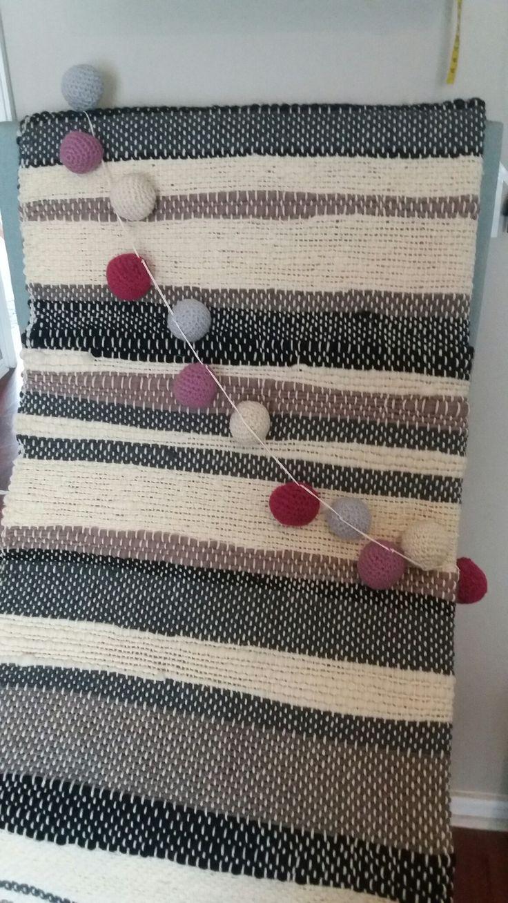 Guirnaldas de crochet
