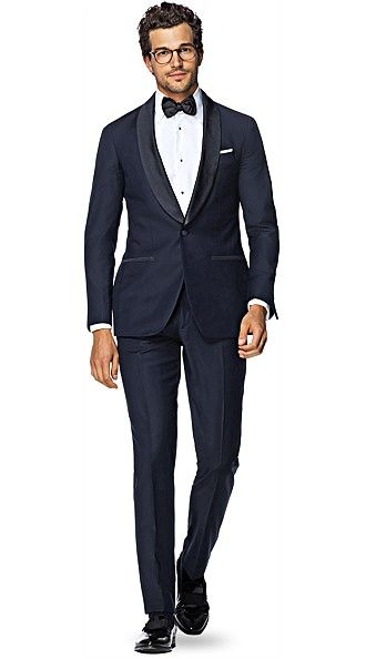 Tuxedo Blue Plain - Suit Supply