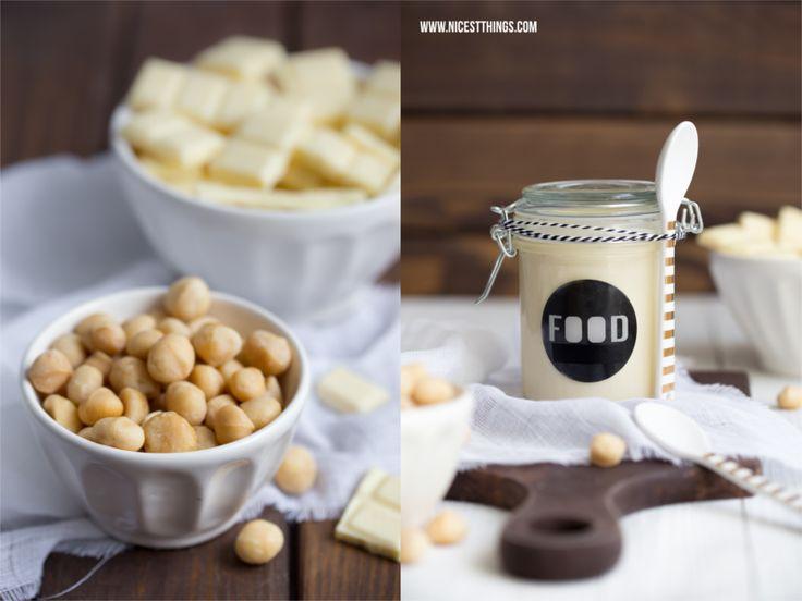 Weiße-Schokolade-Macadamia-Creme