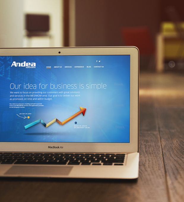 webdesign - andea solutions - layout.