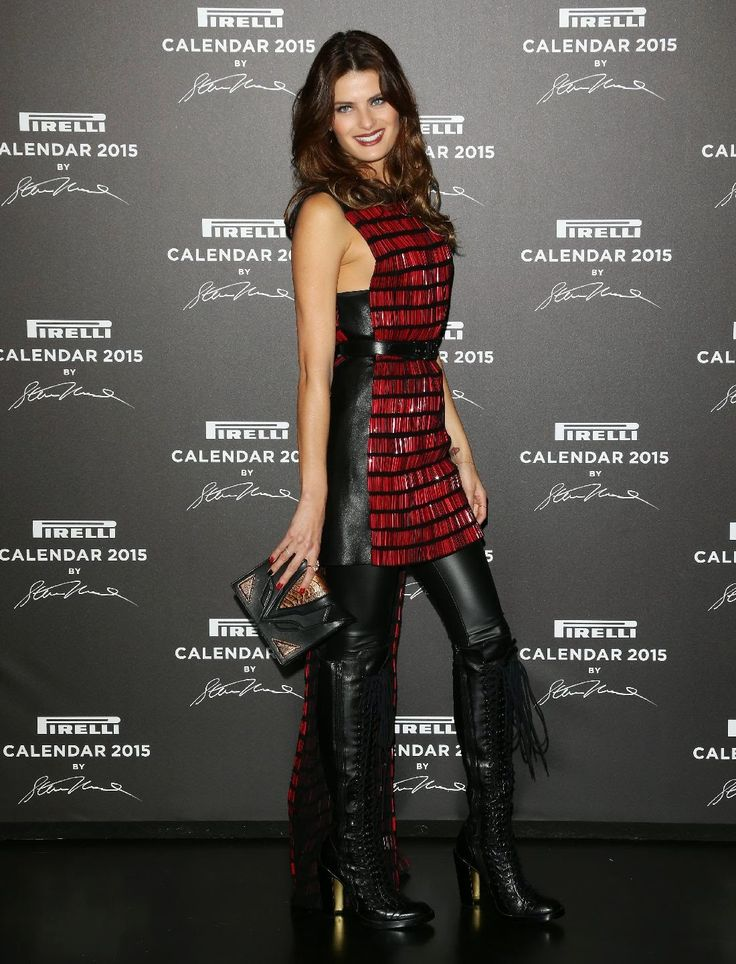 Celebrities in Leather Boots