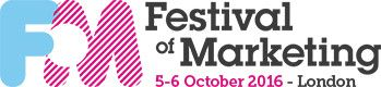 Festival of Marketing, 5-6 October 2016 London If you need a hotel during Festival of Marketing please contact The Hotel & Conference Company for discounted hotel rates +44(0)1767 262 546. Free & reliable hotel booking service.