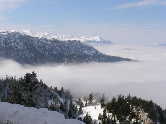 Winter landscapes, Greece
