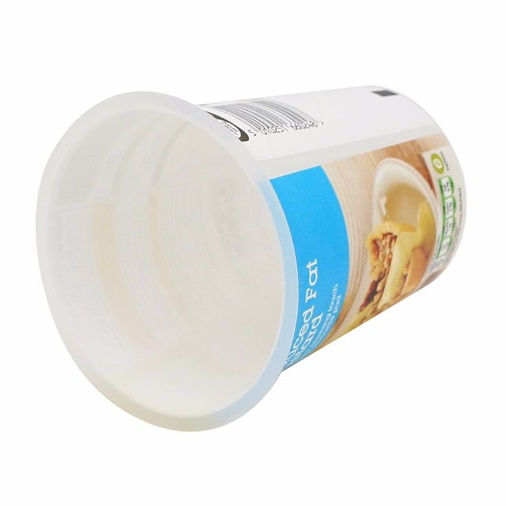 High Quality Eco-Friendly Disposable Food Container, Customized Round Plastic Cup for Yogurt
