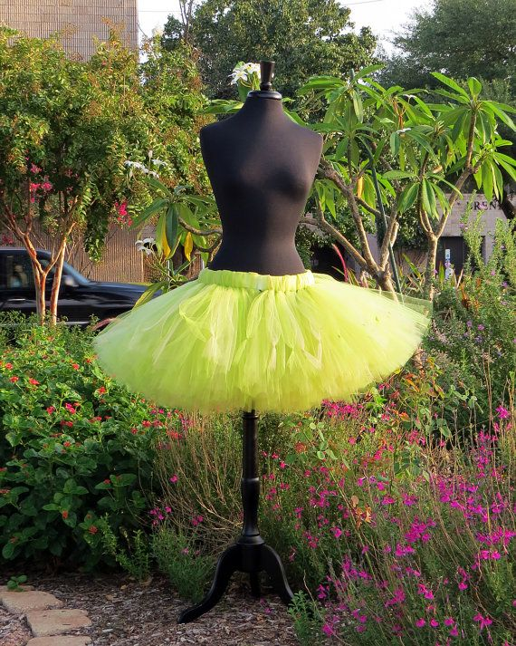 Adult Tinkerbell Halloween costume skirt. by SweetDreamsTutus