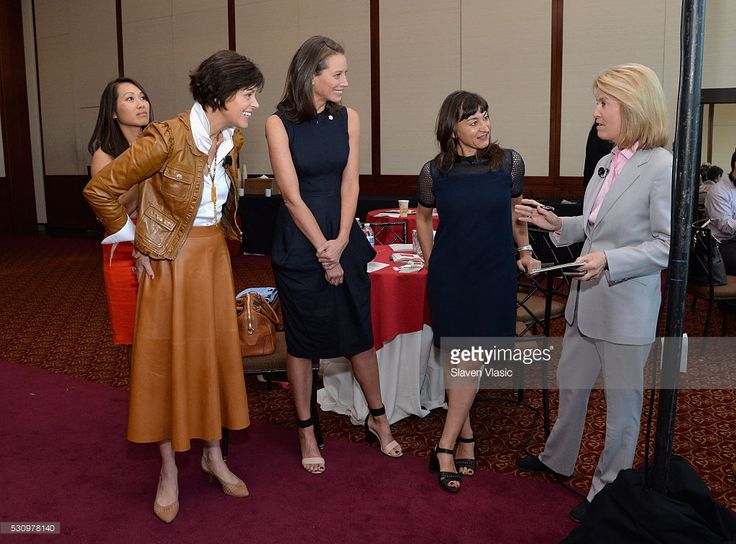 Jane Chen, Bodil Eriksson, Christy Turlington Burns, Lynsey Addario, and Greta Van Susteren attend the 2016 Forbes Women's Summit at Pier Sixty at Chelsea Piers on May 12, 2016 in New York City.