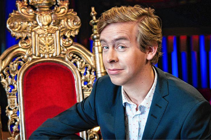 Jonas Van Geel gaat een late night show presenteren op VTM. Foto VTM