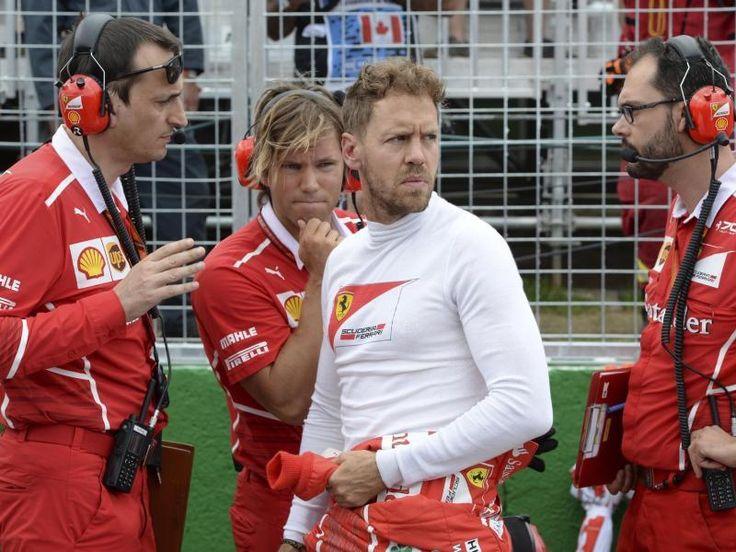 #SZ | Vettel droht #Sperre   FIAverhaengt Strafpunkte   Baku.  Ferrari-Star #Sebastian Vettel #darf #sich #beim #naechsten Formel-1-Rennen #am 9. #Juli #in #OEsterreich #keine #weitere Strafe einfangen, ansonsten droht ihm #eine #Sperre #von #einem #Rennen. dpa   Der WM-Spitzenreiter #ist #beim #Rennen #in Baku #fuer #sein Manoever #gegen Mercedes-Pilot #Lewis Hamilton #nicht