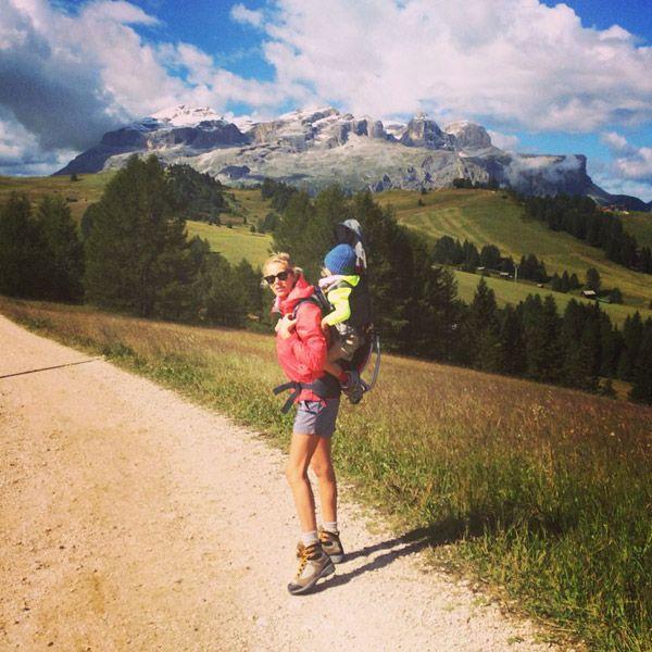 Picnic in montagna! #picnic #dolomiti #montagna http://bit.ly/1sUnqmV
