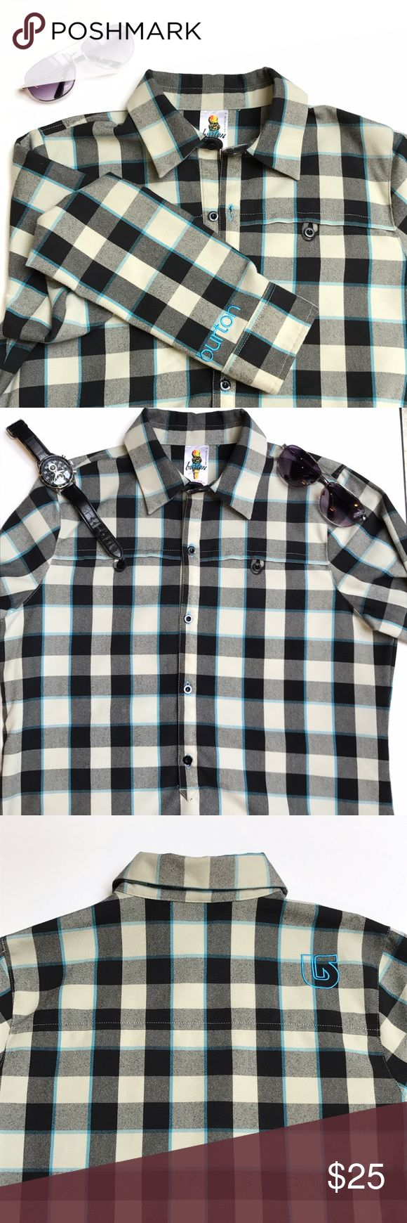 "Burton Dryride Cool Flavors Shirt Like New Medium This is a Burton Dryride Cool flavors line Shirt. Luke new conditions.... great condition. Size: Medium; Shoulder: 15.5""; Chest: 20.5""; Length: 30"" Burton Shirts Casual Button Down Shirts"