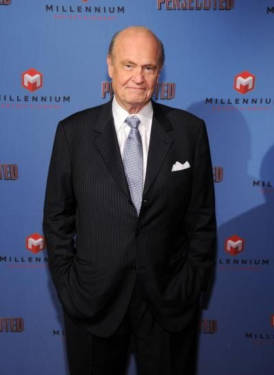 """Former U.S. Sen. Fred Thompson attends """"Persecuted"""" screening at Lighthouse International Theater on July 18, 2014 in New York City."""