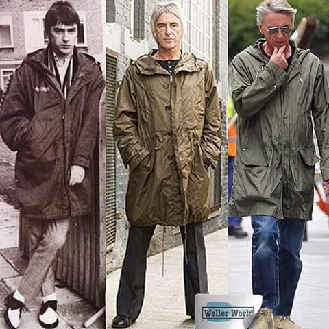 Paul Weller - a parka is for life!
