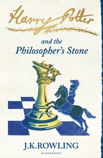 The book that started it all for me...                                                   Harry Potter and the Philosopher's Stone, J. K. Rowling (Bloomsbury Signature Edition)