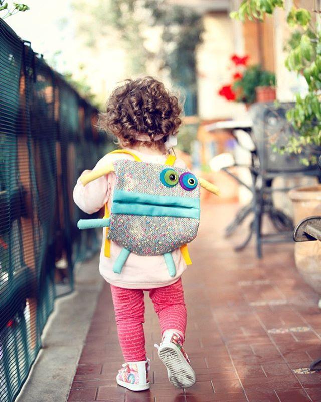 zaino per bambini Podobis! soft back pack for kids by Podobis! #backpack #zainetti #zaino bambini #cute #love #softies #monsterbag #bag