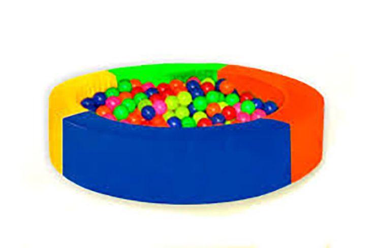 Piscina de pelotas circular en espuma. Edad +3  Ref 8-03111-12-14-17-