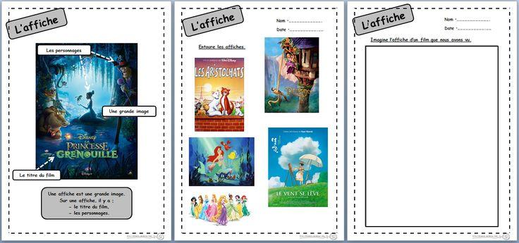 Lire et réaliser une affiche - Dix mois