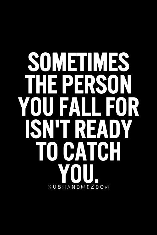 They shouldn't lead you on then. If you aren't ready then don't make the other person believe that you are.