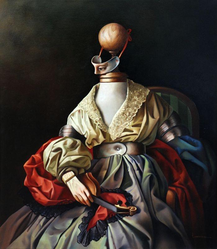 Vito Campanella - Retrato metafísico renacentista (1995)