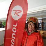 鈴木彩乃さん ロシニョールデモ 2014年12月ロシニョール スペシャル基礎スキーレッスン