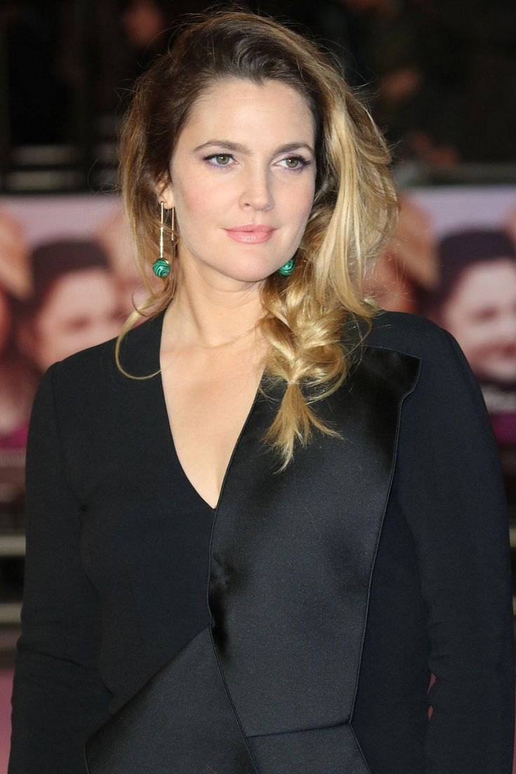 Drew Barrymore.  I think she looks more beautiful than ever these days.  Age looks good on her.