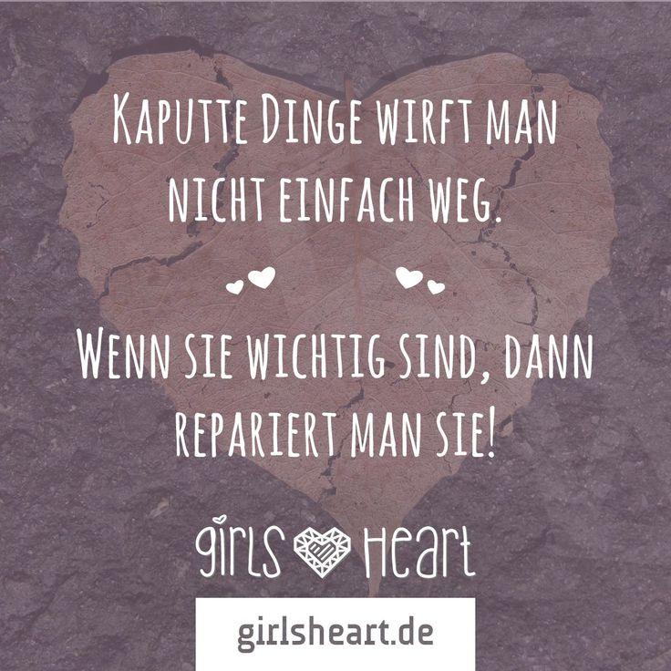 Manche Dinge sind es einfach wert.  Mehr Sprüche auf: www.girlsheart.de  #liebe #herz
