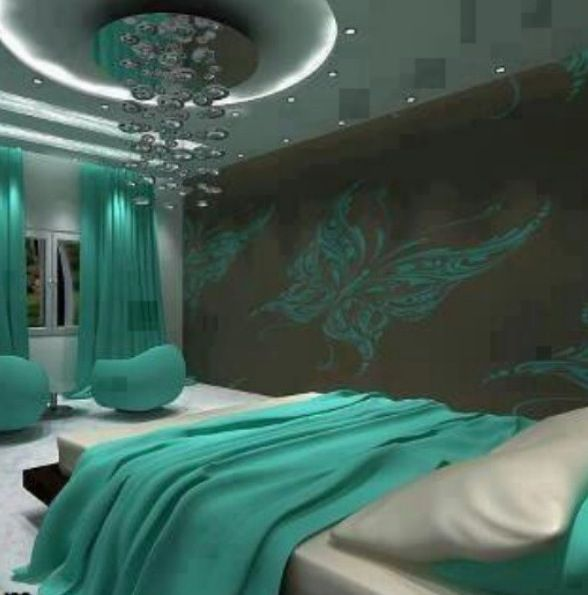 mint green and brown designs bedroom girly bedrooms pinterest
