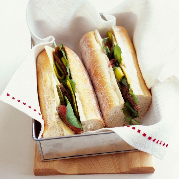 1000 id es sur le th me sandwiches au r ti de boeuf sur pinterest sandwich au b uf b uf r ti - Idee de sandwich froid ...