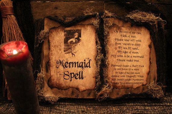 spell books creepy halloween - photo #7