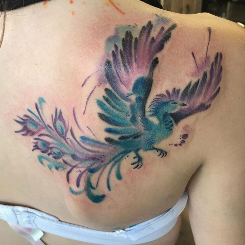 Phoenix Tattoo Designs – Best Tattoos For Women: Cute, Unique, and Meaningful Ta…