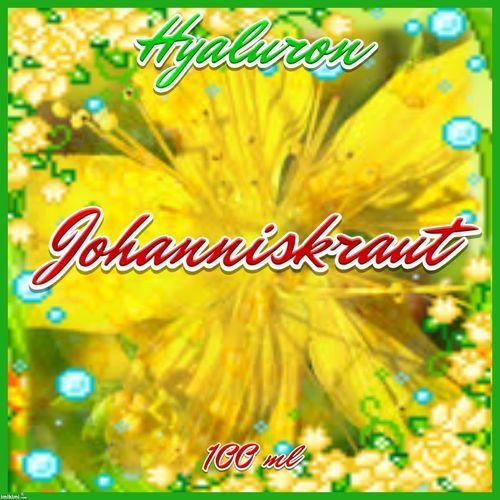 Kräutercreme Hyaluron Johanniskraut depressive Verstimmung, ruhiger Schlaf