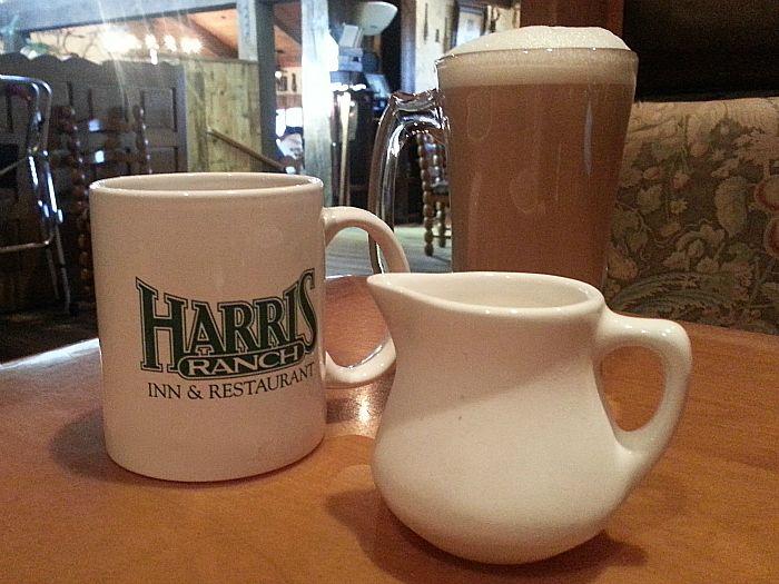 Coffee at Harris Ranch Restaurant - Coalinga, California