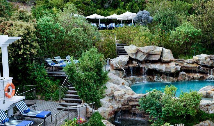 Twelve Apostles mountain pool