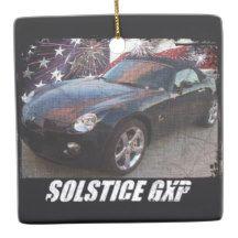 2008 Solstice GXP Ceramic Ornament