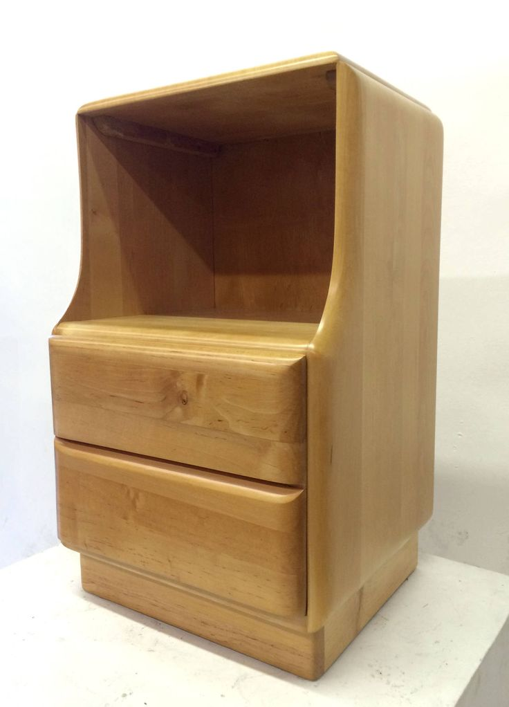 blonde wood nightstands by heywood wakefield from a unique collection of antique and modern night