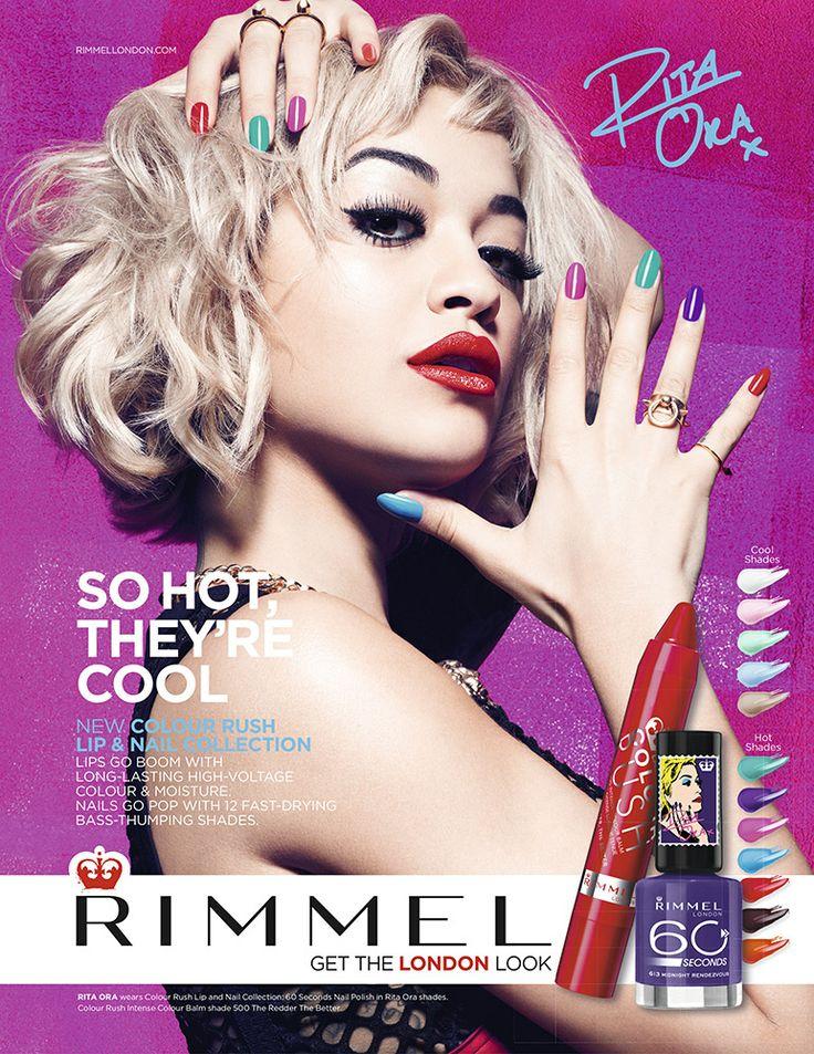 RIMMEL 60 Seconds Colour Rush by Rita Ora