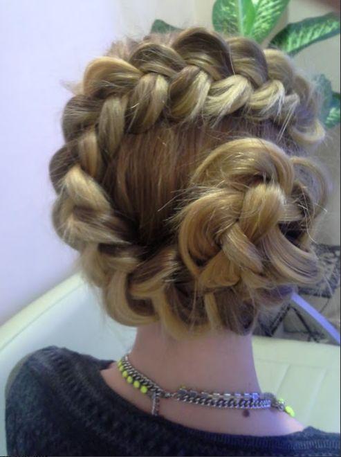 Alkalmi frizura 2.