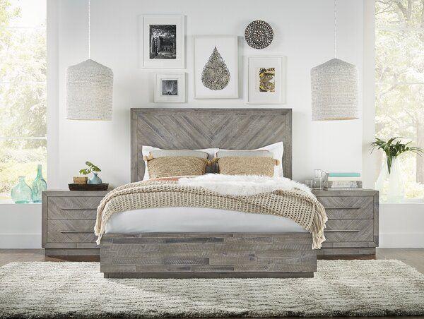 Robards Platform Solid Wood Configurable Bedroom Set Wood Bedroom Sets Bedroom Set Wood Bedroom Furniture