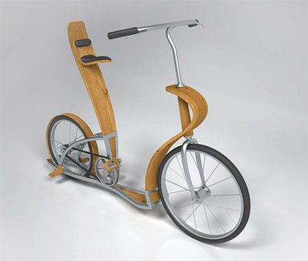 Svepa Bike : Combination of Plywood and Aluminum Creates Elegant Bike  Svepa bike is made up of unique combination of plywood and aluminum giving an elegant and eye-catching look to the bike. This innovative design of Par Blanking from Sweden is a multi purpose bicycle. It can be used as a normal bicycle or used by two people