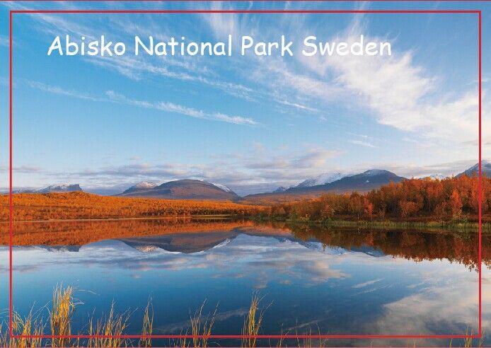 Украшения Подарок Фото Магниты, абиску Национального Парка, Sweden Travel Холодильник Магниты 20573 Прямоугольник Металлические Магниты 78*54 мм