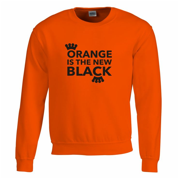 Konings dag oranje sweater - bestel hier: http://www.digitransfer.info/shop/unisex-sweater-koningsdag-3256#3256_2322