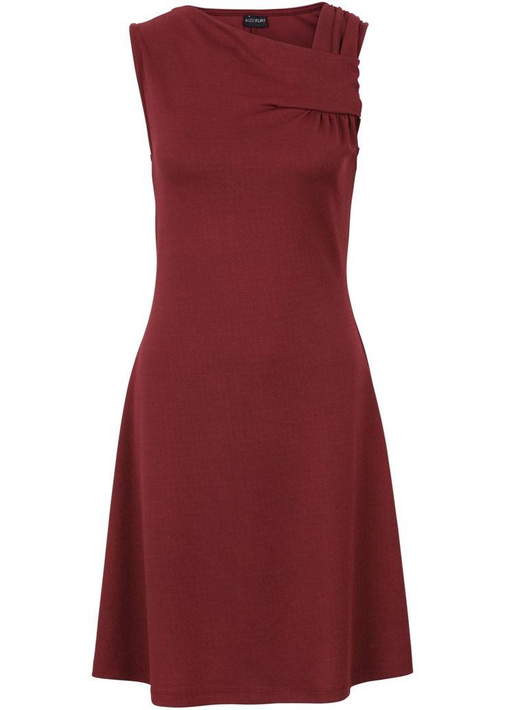 Jetzt anschauen: Atraktivní žerzejové šaty značky Bodyflirt se zajímavě řešeným střihem a rozšířenou sukní. Délka ve vel. 36/38 cca 90 cm.